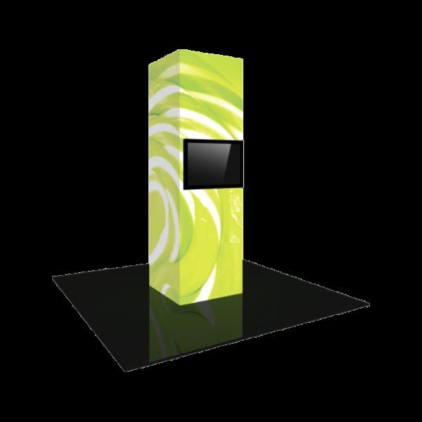 3'X10' - Modular Backlit Monitor Tower 03