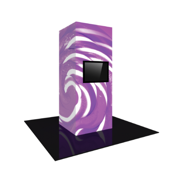 4'X10' - Modular Backlit Monitor Tower 04