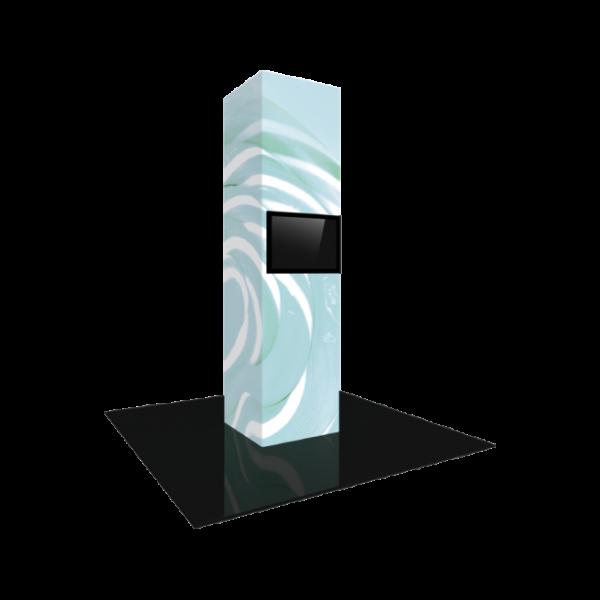 3'X12' - Modular Backlit Monitor Tower 05