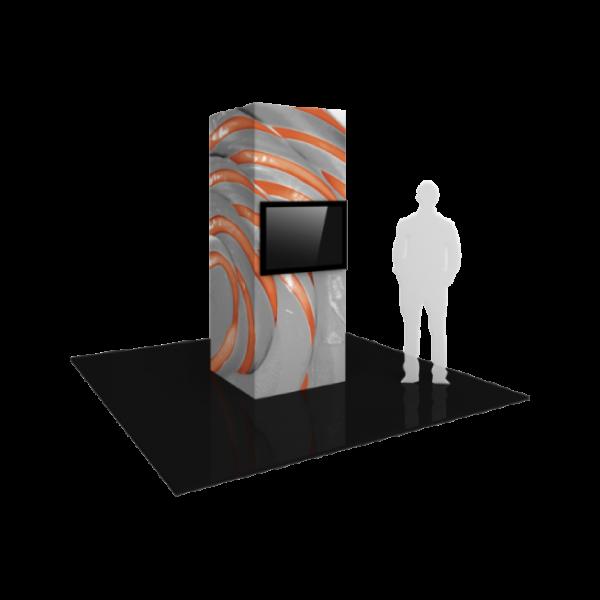 3'x8' - Modular Monitor Tower 01