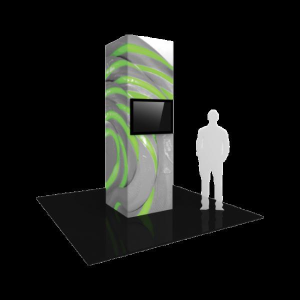 3'X10' - Modular Monitor Tower 03
