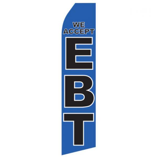 We Accept EBT Econo Stock Flag