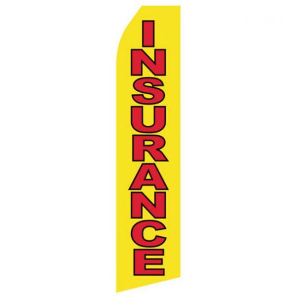 Yellow Insurance Econo Stock Flag