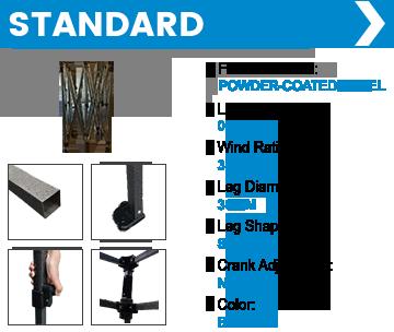 Business Tent Frame Standard