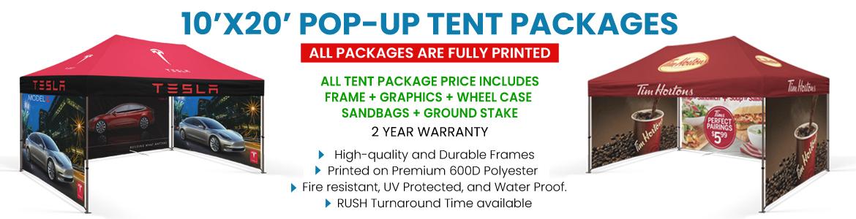 Heavy Duty 10 X 20 Custom Canopy Tents For Trade Shows